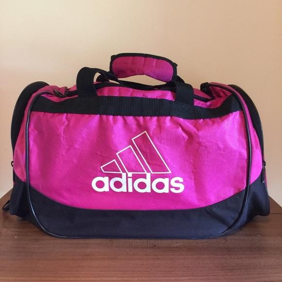 adidas Handbags - ADIDAS pink gym bag!
